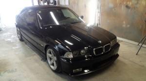 ガラスコーティング事例:BMW E36